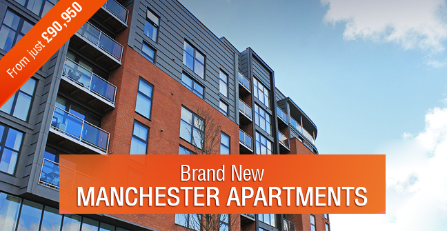 Brand new Manchester apartments from just ?90,950